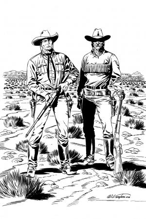 Tex e Carson