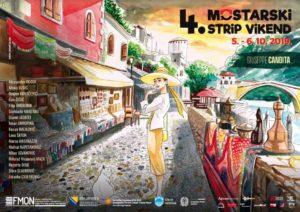 Mostrip: Uskoro četvrti vikend stripa u Gradu na Neretvi