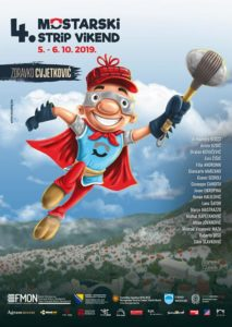 Rekordan broj gostiju na četvrtom Strip vikendu u Mostaru