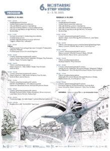 Program 6. mostarskog strip vikenda