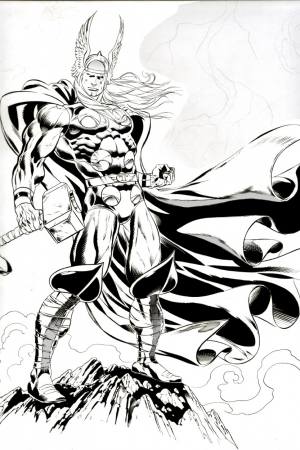Claudio Thor commission for Kirk