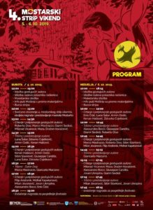 Program 4. mostarskog strip vikenda