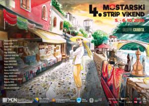 U subotu i nedjelju 05. i 06. listopada Mostarski strip vikend