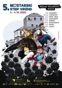 Mostarski strip vikend 3. i 4. oktobra: Fokus na domaćoj strip sceni